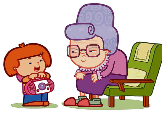 Young And Old Cartoon January « 2011 &#...